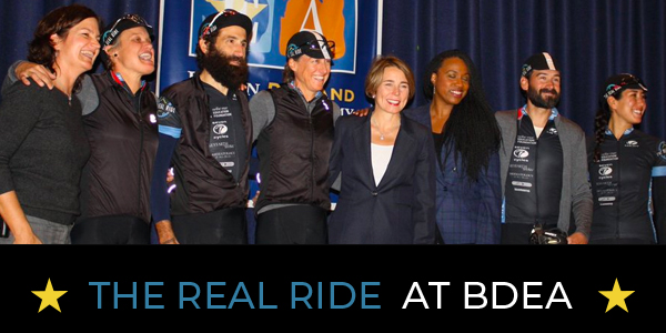 The Real Ride Arrives at BDEA